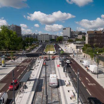 © Pixcture – Finalisation de la station Hôtel de ville – août 2020