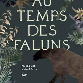 Affiche Au temps des faluns ©Musée d'Angers