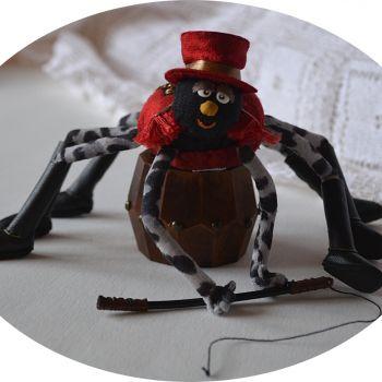 Balthazar araignée©Cie Rataplume