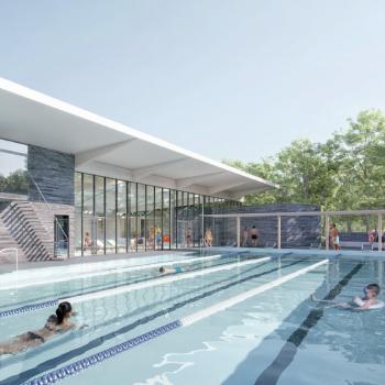 © Chabanne architecte - Bassin exterieur piscine BB