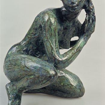© François Cacheux, Sylviane au sourire, 1995, Musées d'Angers, Pierre David