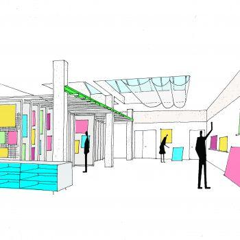 Projet-artothèque©Scheubel + Genty Architectes